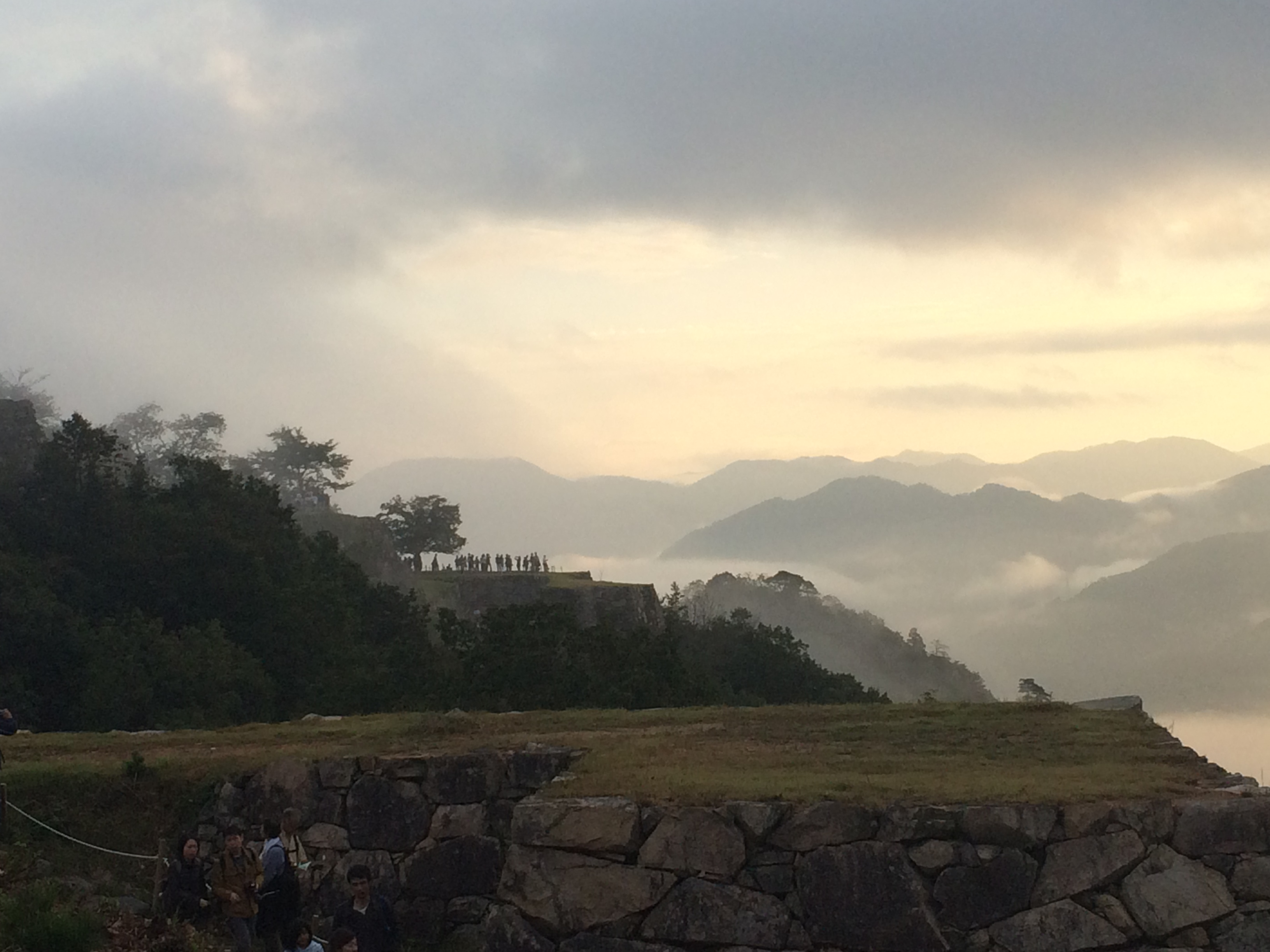 竹田城跡から書写山そして姫路城に行ってきました・・・